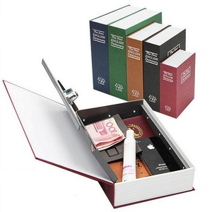 Dictionary Secret Book Money Hidden Secret Security Safe Lock Cash Money Jewellery Locker Box
