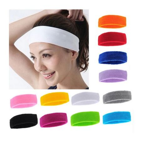 Sports Sweatband Sweat Absorbing Sports Women Yoga Headband