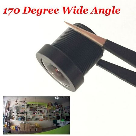 CCTV 1.8mm Security Lens 170 Degree Wide Angle CCTV fish eye Lens For IR Board CCTV HD Camera M12x0.