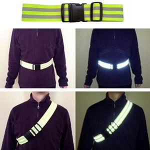 Unisex Safety High Visibility Adjustable Reflection Belt